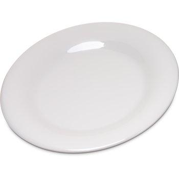"4301642 - Durus® Melamine Salad Plate Wide Rim 7.5"" - Bone"