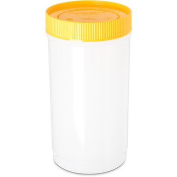 PS602N04 - Stor N' Pour® Quart Backup Container w/ Assorted Color Caps 1 Quart - Yellow