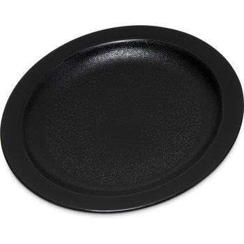 """PCD20603 - Polycarbonate Narrow Rim Plate 6.5"""" - Black"""