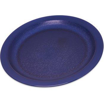 """PCD21050 - Polycarbonate Narrow Rim Plate 10"""" - Dark Blue"""