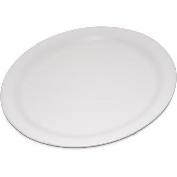 "4300442 - Durus® Melamine Narrow Rim Dinner Plate 9"" - Bone"
