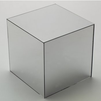 "SMMC1023 - MirAcryl™ Mirror Cube 9-5/8"" - Mirrored"