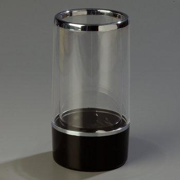 IG22403 - Acrylic Server w/Black Base  - Black