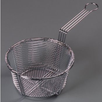 "601000 - Mesh Fryer Basket 8-3/4"" - Chrome"