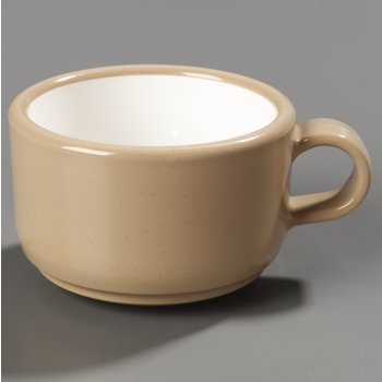 451219 - Jumbo Soup/Latte Mug 12 oz, 5-1/2&quot; - Stone