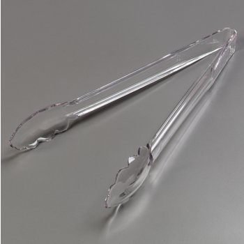 "411207 - Carly® Utility Tong 11-3/4"" - Clear"