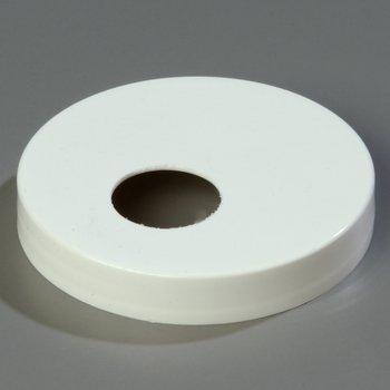 "3831089 - Plastic Cap Only 3.50"" - White"
