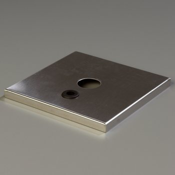 386010C - Cover for High Volume Dispensers using SS Pump 38550R - Stainless Steel