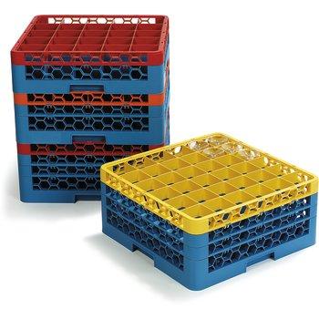 OptiClean™ Glass Racks & Color-Coded Glass Racks