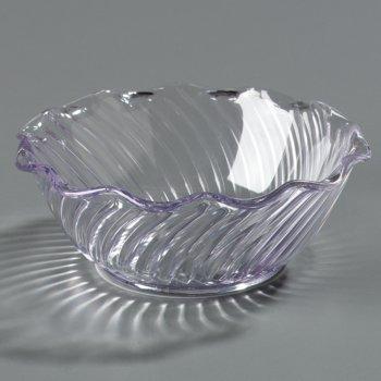 """453307 - Tulip Bowl 13 oz, 5-9/16"""" - Clear"""