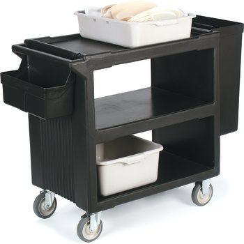 SBC11SH03 - Silverware Holder for Service Cart (SBC230)  - Black