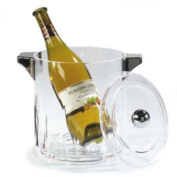 IG24507 - Diamond Cut Bucket w/Handle 4.5 qt - Clear