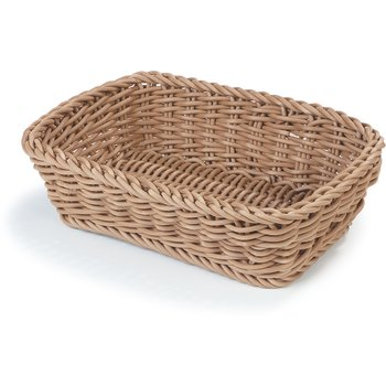 "4920125 - DuraWeave™ Rectangular Basket 11-7/8"", 8-1/4"", 3-5/16"" - Tan"