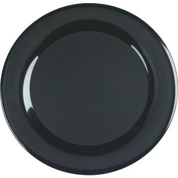 "4440603 - Designer Displayware™ Wide Rim Round Platter 19"" - Black"