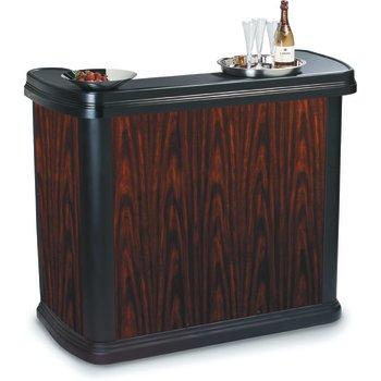 7550094 - Maximizer™ Portable Bar  - Cherry Wood