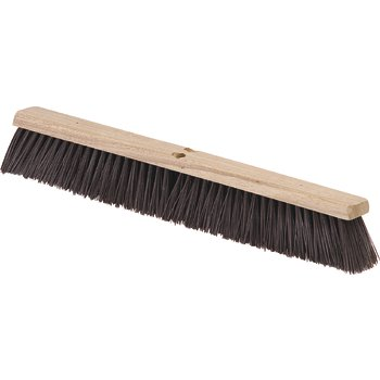 """4520401 - Flo-Pac® Crimped Polypropylene Sweep with Brace 36"""" - Maroon"""