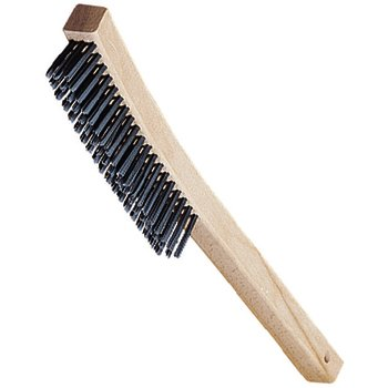 """4577000 - 13.75"""" Brush with 3 x 19 Rows of Carbon Steel Bristles"""