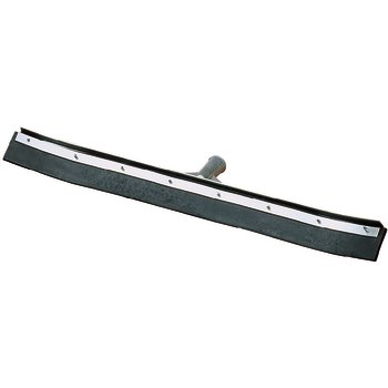 "36324C00 - 24"" Curved End Black Rubber Squeegee 24"""