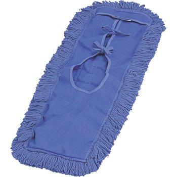 """364882414 - Launderable Dust Mop 5"""" X 24"""" - Blue"""
