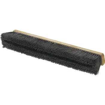 "360242403 - Flo-Pac® Horsehair/Polypropylene Sweep With Wire Center 24"" - Black"
