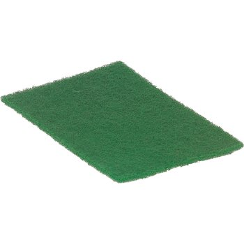 "3639608 - Coarse Green Scour Pad 9"" x 6"" (10/pk) - Green"