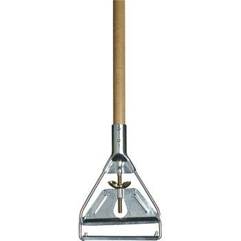 "4034000 - 63"" Wood Mop Handle with Metal Head 63"""