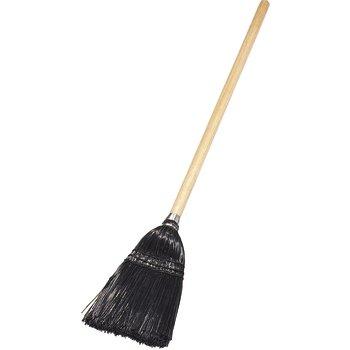"""4168303 - Toy/Lobby Broom 40"""" / 8 lb. - Black"""