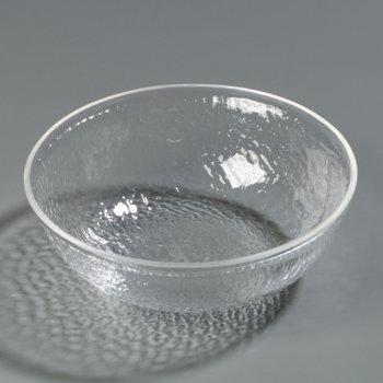 SB6807 - Pebbled Bowl Round 1.4 qt - Clear