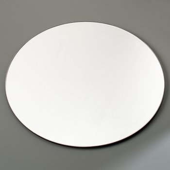 "SMR1223 - MirAcryl™ Round Tray 11-1/2"" - Mirrored"