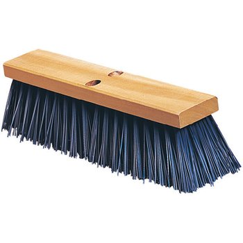"3611401814 - Flo-Pac® 18"" Heavy Polypropylene Sweep 18"" - Blue"