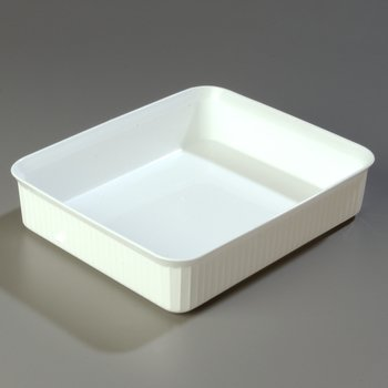 "811202 - Deliware® Rectangular Crock 10 lb 12-7/16"" x 10-1/4"" - White"