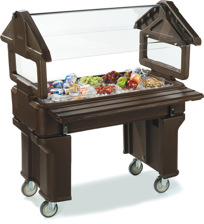 Carlisle Six Star 4 ft Portable w/Legs Only - Brown 660501