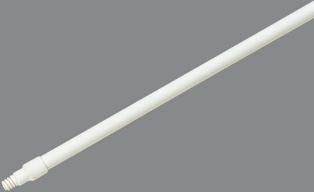 "Carlisle 48"" FIBERGLASS HANDLE WHITE 4122500"