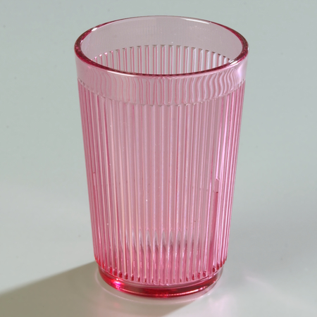 Carlisle Crystalon® Stack-All® SAN Tumbler 8.3 oz - Rose 400855