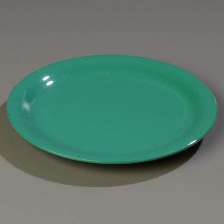 "Carlisle Sierrus Salad Plate - Narrow Rim 7-1/4"" - Meadow Green 3300609"