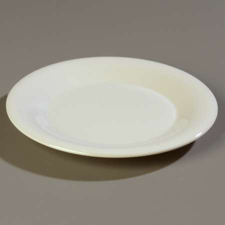 """Carlisle Sierrus Bread & Butter Plate - Wide Rim 5-1/2"""" - Bone 3302042"""