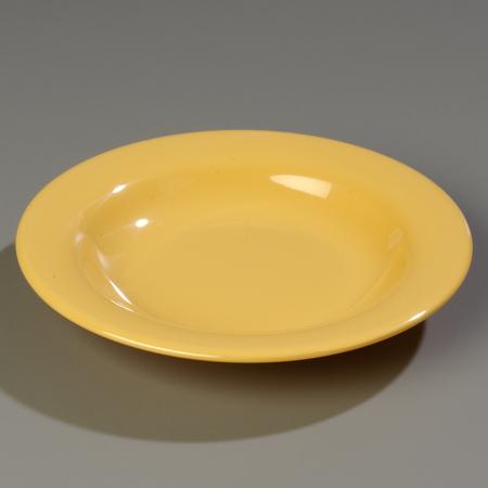 "Carlisle Sierrus Pasta/Soup/Salad Bowl 9-1/4"" - Honey Yellow 3303422"