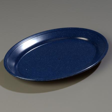 "Carlisle Dallas Ware® Oval Platter 12"" x 8-1/2"" - Café Blue 4356035"
