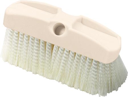"Carlisle 8"" Vehicle Wash Brush w/Crimped Polypropylene Bristles 36122800"