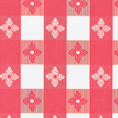 51511554L001 - Classic™ Series Tablecloth  Check 15 YD Roll - Red