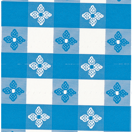 "51515252SM002 - Classic™ Series Tablecloth Check 52"" x 52"" - Blue"