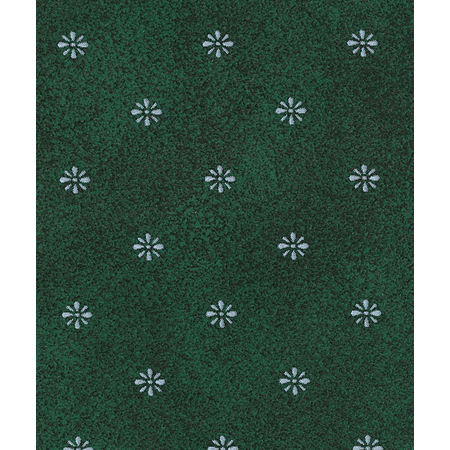 57191554L064 - Aster Tablecloth 15 YD Roll - Forest Green