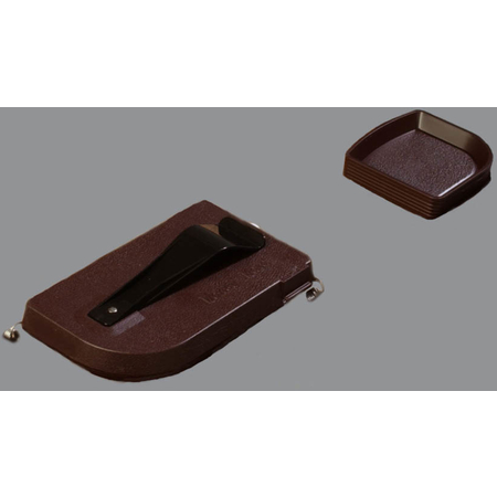"""103101 - Money Maid™ Round Combo Pack w/Six Coin Trays 14"""", 14"""", 2-1/4"""" - Brown"""