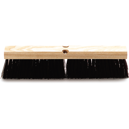 "4520101 - Flo-Pac® Crimped Polypropylene Sweep 18"" - Maroon"