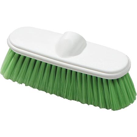 "4005075 - Flo-Pac® Flo-Thru Nylex Brush With Flagged Nylex Bristles 9-1/2"" - Green"