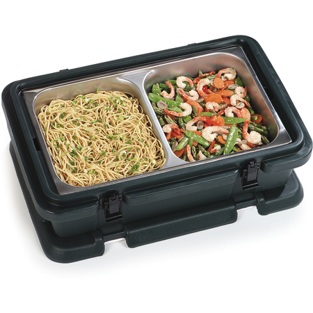 PC140N03 - Cateraide™ Single Pan Carrier 12Qt - Black
