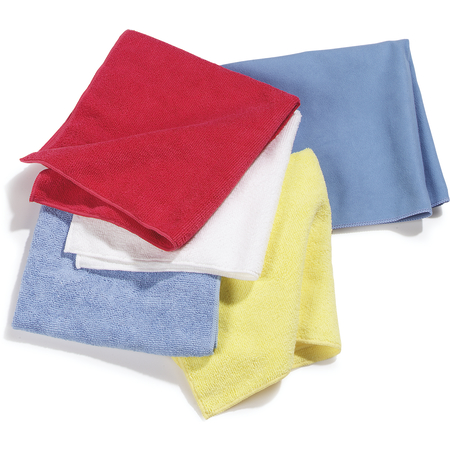 "3633402 - Terry Microfiber Cleaning Cloth 16"" x 16"" - White"