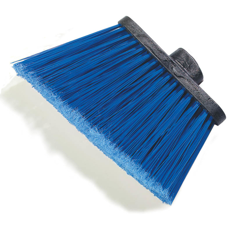 "3686714 - Duo-Sweep® Medium Duty Angle Broom w/12"" Flare (Head Only) 12"" - Blue"