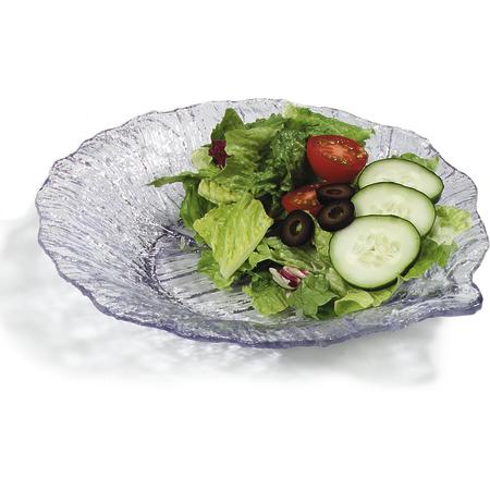 "034707 - Leaf Plate 9"" - Clear"