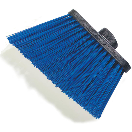 "3686814 - Duo-Sweep® Heavy Duty Angle Broom w/12"" Flare (Head Only) 8"" - Blue"
